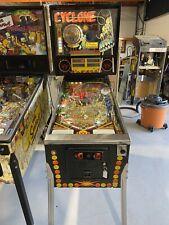 Cyclone Pinball Machine Williams 1988 Free Shipping LEDS