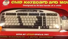 My Little Genius Child Keyboard and Mouse works with PC and Mac, PS2 & USB