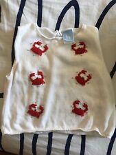 Bella Bliss Girls Sleeveless Sweater Size 5 Euc