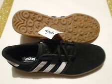 NWT 2014 adidas Seeley Cup Black Suede Leather Men's Size 10.5 Shoes C75172 Gum