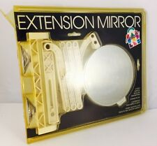 Vintage 1990s Caboodles 2-Sided Extension Wall Mount Mirror - New