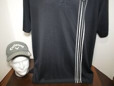 Callaway Mavrik Golf Cap and Performance Polo Combo Xl Black Polyester - Nice!