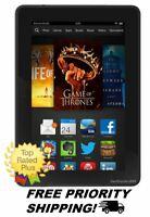 "Amazon Kindle Fire HDX 7"" Tablet (3rd Generation) HD Display 7 Wi-Fi 16 GB"