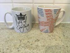 Il re di tutto & London 2012 OLIMPIADI tazze/bicchieri