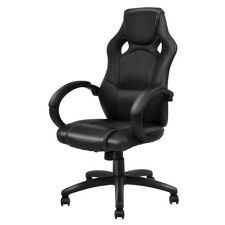 High Back Racing Chair Bucket Seat Office Desk Gaming Chair Swivel Executive New