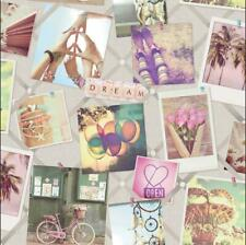 Instadream Wallpaper Picture Collage Words Polaroid Girly Vintage Pastel Holden