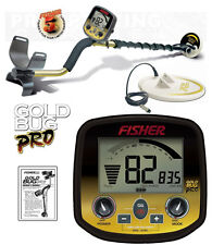 "Fisher GOLD BUG PRO Metal Detector COMBO w/ 5"" & 10"" DD Waterproof Coil"