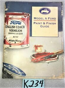USED ORIGINAL ... 1956 FORD THUNDERBIRD AUTOMOTIVE OWNERS HANDBOOK   K233