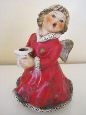 1966 Goebel / Sacrart Angel Figurine Candle Holder Reuge Music Box Not Working