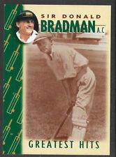 WEETBIX DON BRADMAN GREATEST HITS CRICKET CARD # 4 of 16