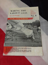 'Wiring the Layout' (2 rail)(No. 1)(Model railways)(Peco publications)