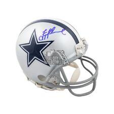 46f3ff043 Troy Aikman Autographed Dallas Cowboys Mini Football Helmet - BAS COA