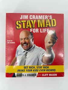 Jim Cramers Stay Mad for Life Get Rich Stay Rich With Cliff Mason Audiobook CD