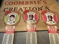 1977  Pepsi-Cola Baseball Mitt Complete Carl Yastrzemski And 2 Fisk Card Red Sox