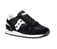 Saucony Men's Shadow Original Vintage Trainers Shoes S70424-2 Black White
