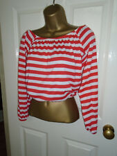 NEW Atmosphere Cropped Elasticated Top Size 6