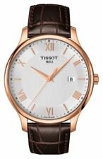 Tissot T-Classic Tradition T0636103603800 Rose Gold Leather Swiss Mens Watch