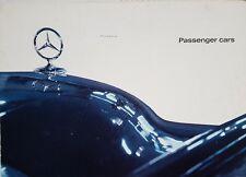 Mercedes 190 220 220S 220SE 300SE 230SL,220SE 300SE Coupes  UK  Brochure -1963