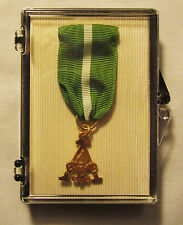 VINTAGE BSA Boy Scout 1/20 10K Gold Plated Scouters Training Medal Award MINT!