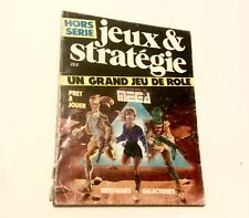 Rétro RPG Mega 1 Jeu De Rôle Des Messagers Galactiques 1984 HS Jeux Et Strategie