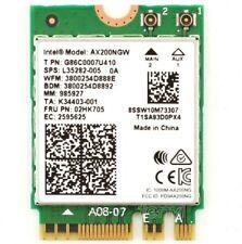 Intel AX200NGW Wireless Wi-Fi 6 NGFF Bluetooth 5.0 2.4/5GHz Wifi Card