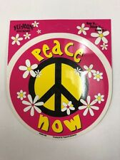 """New """"Peace Now"""" Sticker / Decal"""