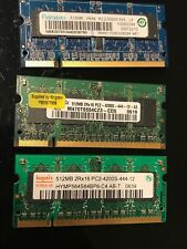 1,5GB DDR2 Hynix Etc. PC4200 SO-DDR2 Laptop Memory Memory (3x512MB)