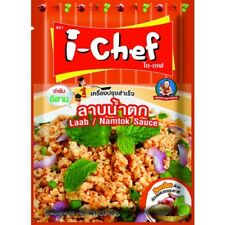 I-CHEF LAAB NAMTOK SAUCE SEASONING COOKING SPICES 50 G.