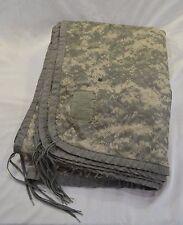 Genuine Military Surplus Woobie Wet Weather Poncho Liner Universal Camo Blanket