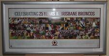 Brisbane Broncos 25 Years Sportsprint Unframed Licensed Product
