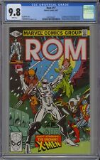 ROM #17 CGC 9.8 NM/MT Wp Marvel 1981 Early New X-Men Wolverine & Colossus + RARE