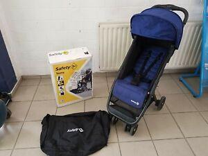 Safety 1st Buggy Teeny, ultra-kompakt, inkl. Transporttasche, blau bis 15KG