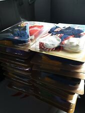 TY GEAR FOR BEANIE KIDS LOT OF 18 - UNOPENED SNOWBOARDER UNCLE SAM PRINCESS ETC.