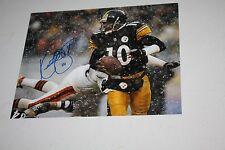 "Pittsburgh Steelers Qb Kordell Stewart #10 Signed Auto 8X10 Photo ""Slash"""
