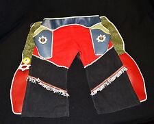 Vintage Western Boys Cowboy Chaps Pants 50's or 60's Era