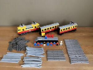 LEGO Trains Inter-City Passenger Train (7740) with 12v Motor Vintage 1980's