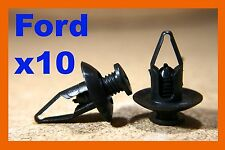 10 Ford mud flaps splash guard panel wheel arch fastener clips