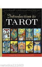 Introduction to Tarot NEW book Illustrated Thoth Rider-Waite decks Susan Levitt