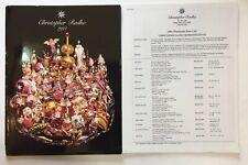 Christopher Radko 1994 Ornament Catalog With Price List