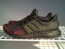 """NEW ADIDAS ULTRA BOOST CLIMA """"Core Black Solar Red"""" MENS RUNNING SHOES SZE 11.5"""