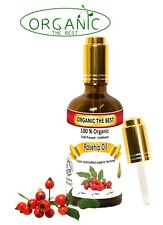 Organic Rosehip Oil Cold Pressed Unrefined,Certified, Premium Quality 50 ml