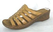 Eddie Bauer Sandals Shoes Sz 10 M Strappy Slides Wedge Heels Fisherman Gladiator