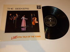 THE SEEKERS - Live At The Talk Of The Town - 1968 UK LP