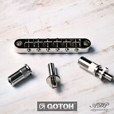 CHEVALET GOTOH GE103B-T Nashville TuneOMatic pour GIBSON LP SG ES Bridge 6,4mm8M