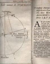 ASTRONOMIA_METEO_TRANSITO DI MERCURIO_ZENDRINO_VENEZIA_TERMOSCOPIO_TELESCOPIO