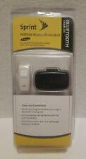 New Samsung Wep200 Bluetooth Headset w/ Charging Case, Travel Adapter Sprint Nip