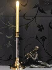 Kerzenleuchter Tischleuchter Kerzenständer Empire Stil Messing Hochzeit Catering