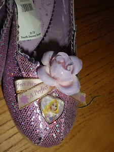 Disney Store  Princess Rapunzel  Shoes for Girls USA YOUTH size 2/3 NEW