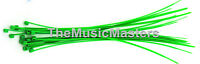 """1000 Green 6"""" inch Wire Cable Zip Ties Nylon Tie Wraps 40lb USA Made Tiger Ties"""
