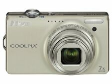Nikon Digital Camera Coolpix (Coolpix) S6000 Champagne Silver S6000Sl